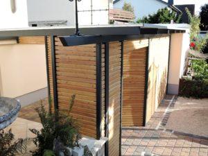 Fassaden-Zaunprofile Lärche