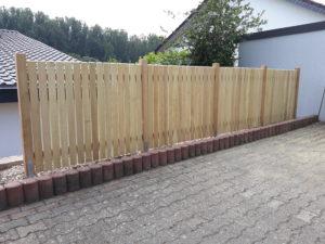 Fassaden- Zaunprofile Robinie